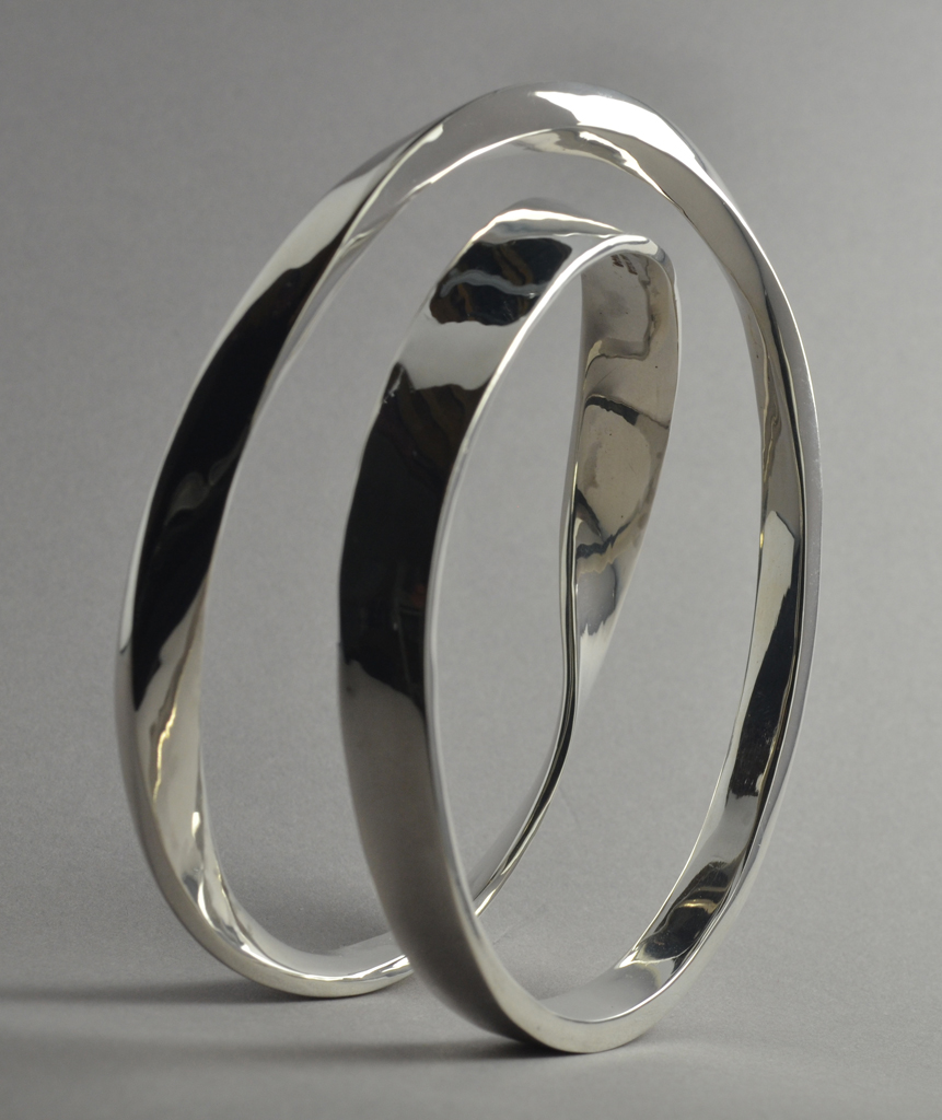Sterling Silver 'Mobius' (one sided) Bracelet